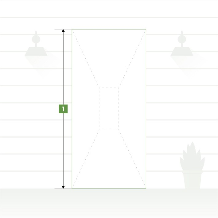 Porte d'entrée pose en neuf - Hauteur de tableau